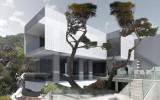 Casa Piscina de Vidrio
